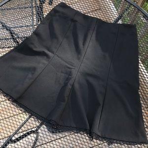 Black bottom lace skirt